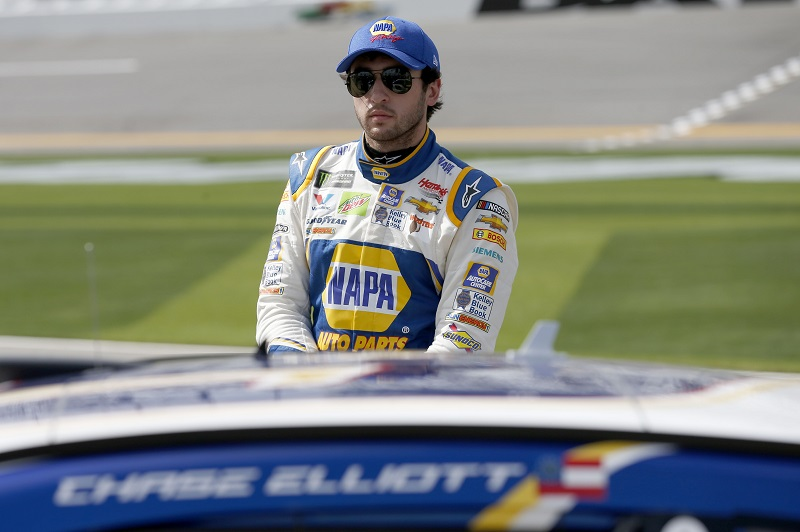 Monster Energy NASCAR Cup Series Daytona 500 Daytona International Speedway, Daytona Beach, FL USA Sunday 11 February 2018 Chase Elliott, Hendrick Motorsports, NAPA Auto Parts Chevrolet Camaro World Copyright: Matthew T. Thacker NKP