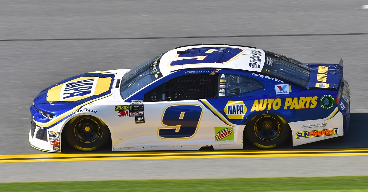 Monster Energy NASCAR Cup Series Daytona 500 Daytona International Speedway, Daytona Beach, FL USA Saturday 10 February 2018 Chase Elliott, Hendrick Motorsports, NAPA Auto Parts Chevrolet Camaro World Copyright: Nigel Kinrade NKP