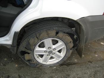 Low Tire Pressure Can Lead to Poor Fuel Economy, Loss of Traction, and Dangerous Blowouts