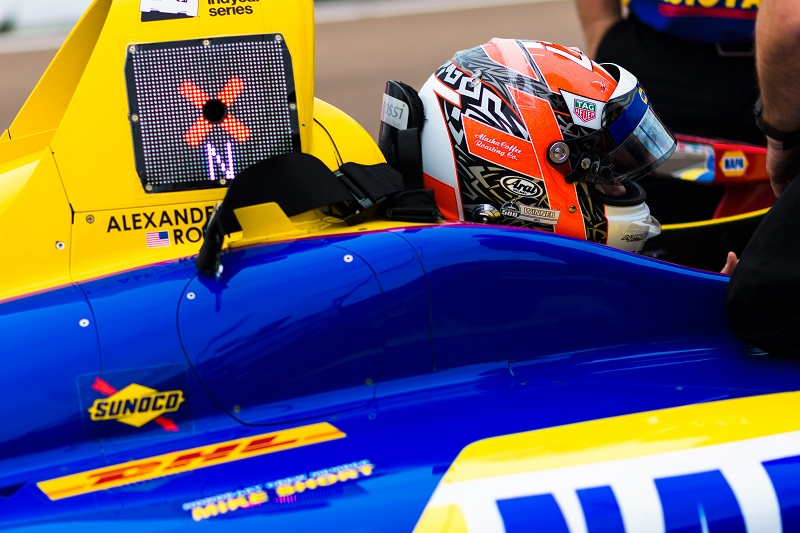|Photographer: Jamie Sheldrick|Event: Grand Prix of St Petersburg|Circuit: St Petersburg|Location: Florida|Series: Verizon IndyCar Series|Season: 2018|Country: US|Car: Honda|Number: 27|Team: Andretti Autosport|Driver: Alexander Rossi|