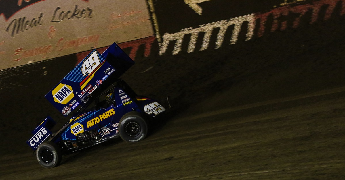 Brad Sweet Continues World of Outlaws Top-Ten Streak
