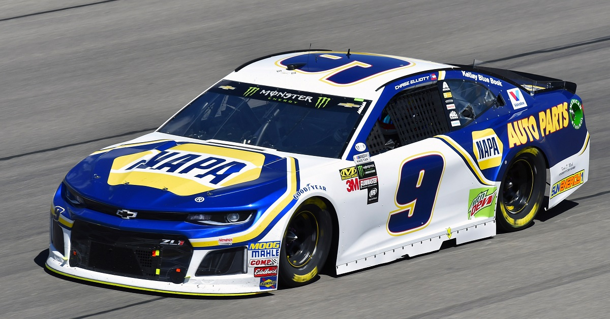 Monster Energy NASCAR Cup Series Pennzoil 400 Las Vegas Motor Speedway, Las Vegas, NV USA Sunday 4 March 2018 Chase Elliott, Hendrick Motorsports, Chevrolet Camaro NAPA Auto Parts World Copyright: Nigel Kinrade NKP