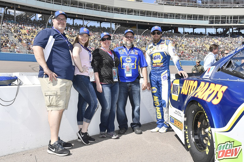 Monster Energy NASCAR Cup Series TicketGuardian 500 ISM Raceway, Phoenix, AZ USA Sunday 11 March 2018 Chase Elliott, Hendrick Motorsports, Chevrolet Camaro NAPA Auto Parts World Copyright: Rusty Jarrett NKP