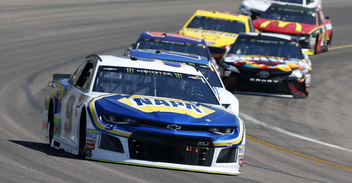 Monster Energy NASCAR Cup Series TicketGuardian 500 ISM Raceway, Phoenix, AZ USA Sunday 11 March 2018 Chase Elliott, Hendrick Motorsports, Chevrolet Camaro NAPA Auto Parts World Copyright: Matthew T. Thacker NKP