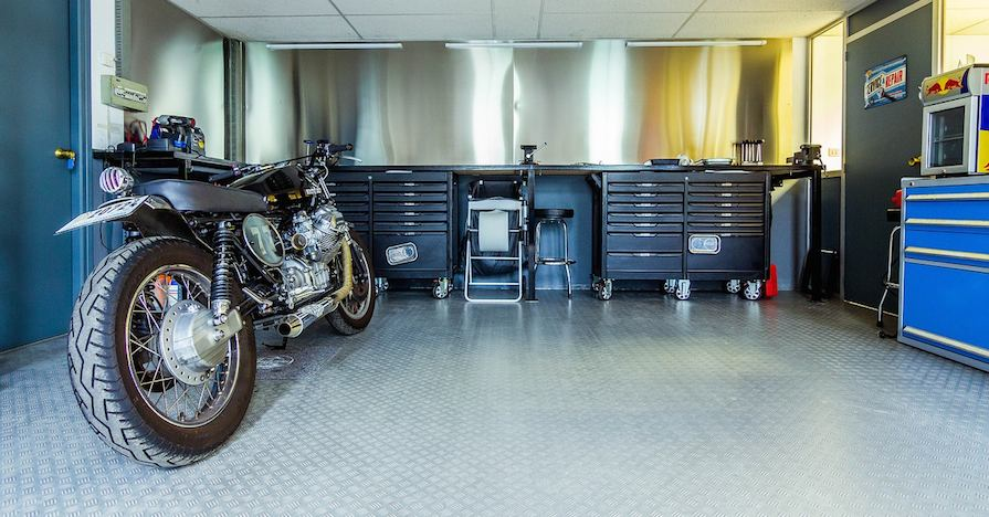 A well planned garage ready for a garage technology upgrade