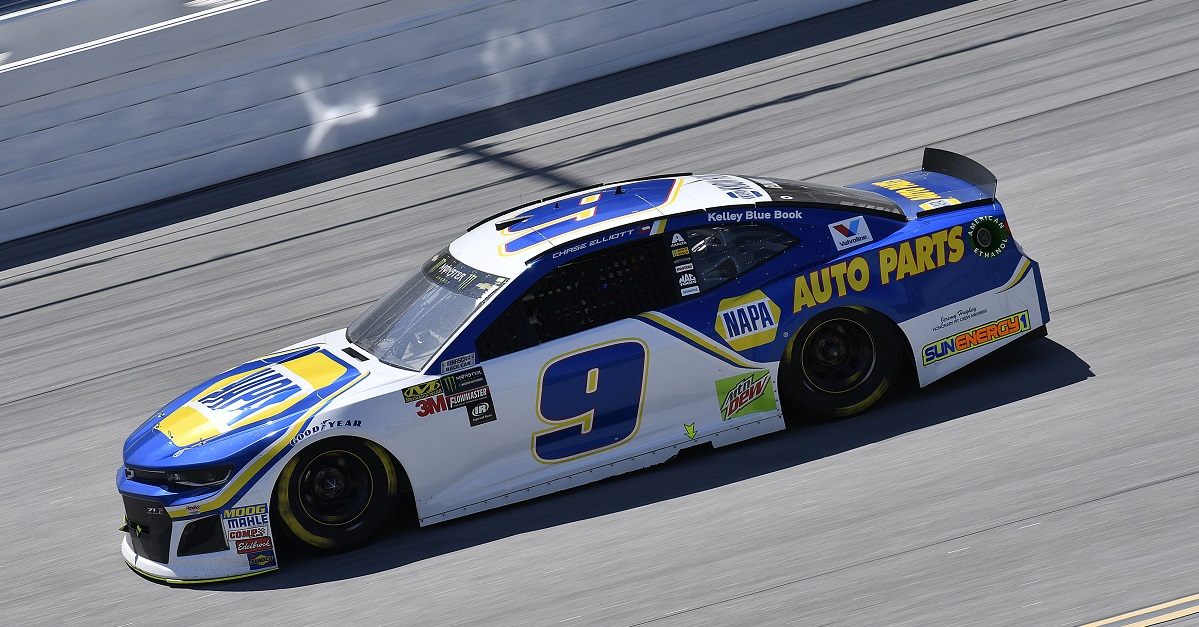 Elliott, NAPA Team Post Second-Consecutive Top-Three Finish of Season at Talladega
