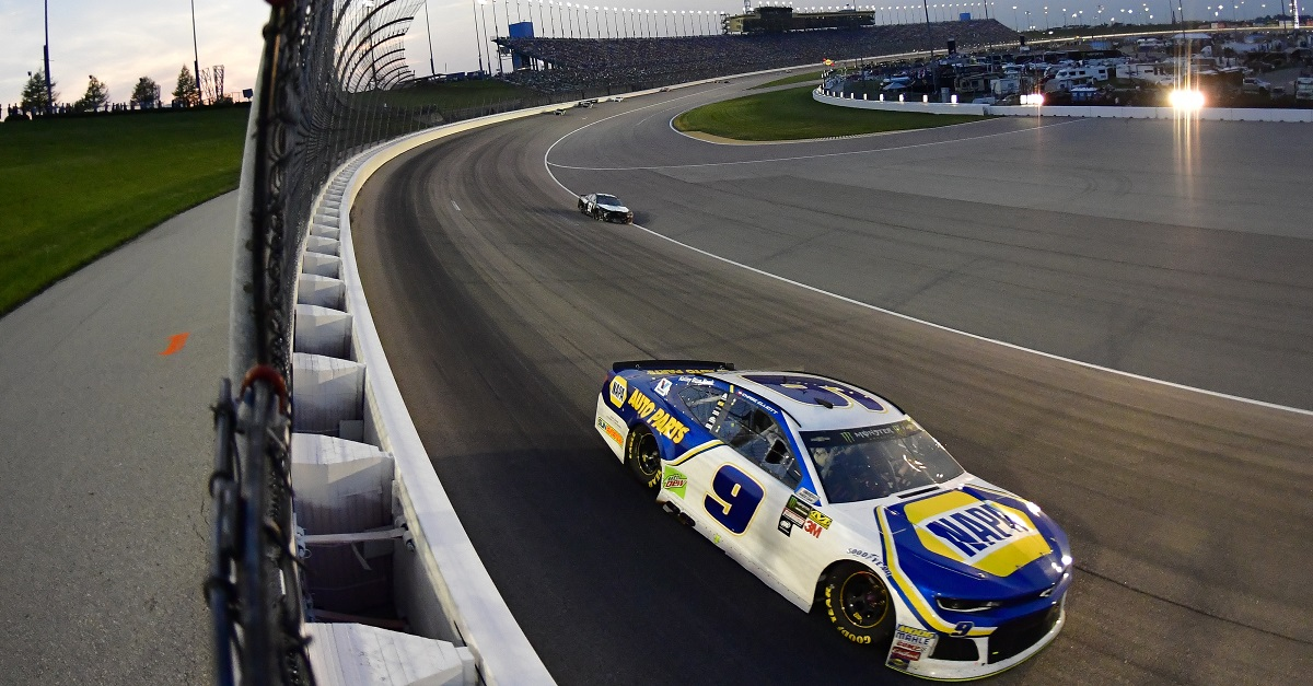 Elliott, NAPA Team Finish 12th at Kansas Speedway