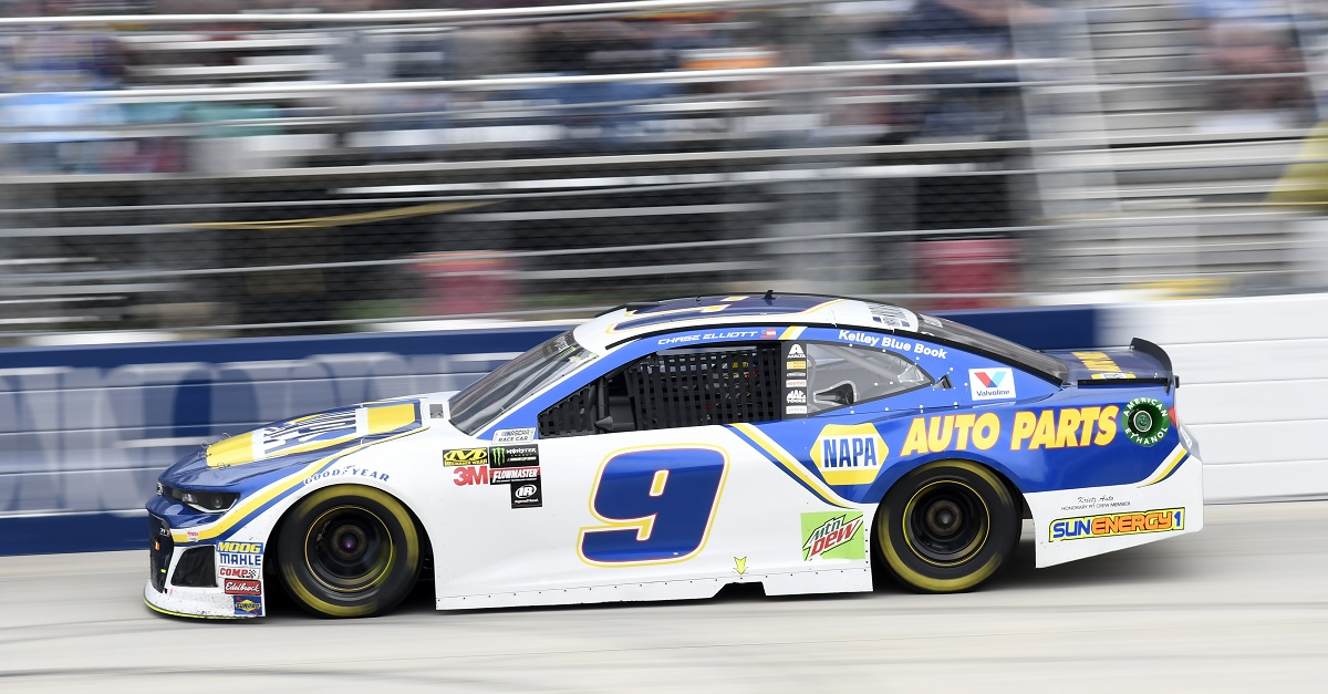 Chase Elliott Finishes 12th at the Monster Mile