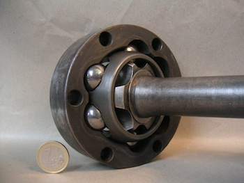 The Inside of an Rzeppa Constant Velocity Joint