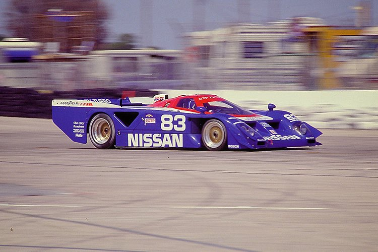 The Nissan GTP ZX-Turbo. Image Source: Nissan Image Library.