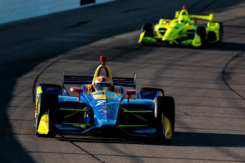 | Driver: Alexander Rossi| Team: Andretti Autosport| Number: 27| Car: Honda|| Photographer: Andy Clary| Event: Iowa Corn 300| Circuit: Iowa Speedway| Location: Newton, Iowa| Series: Verizon IndyCar Series| Season: 2018| Country: US| Keyword: motor racing| Keyword: motorsport|| Session: P2|