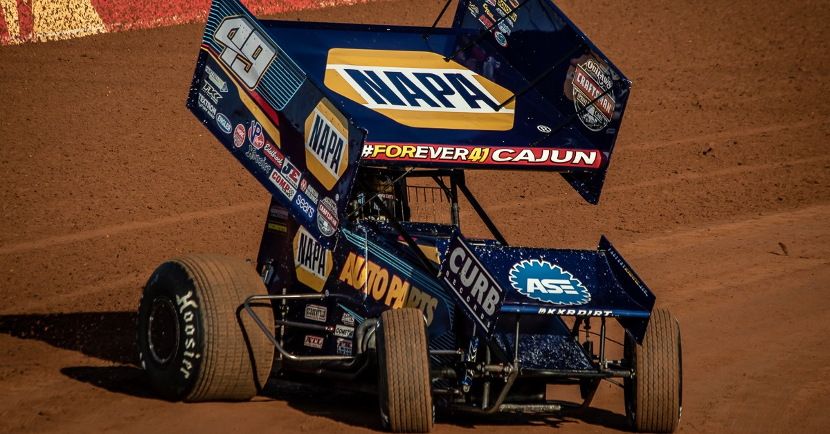 Brad Sweet NAPA AUTO PARTS 49 Lincoln Speedway 2018 feat