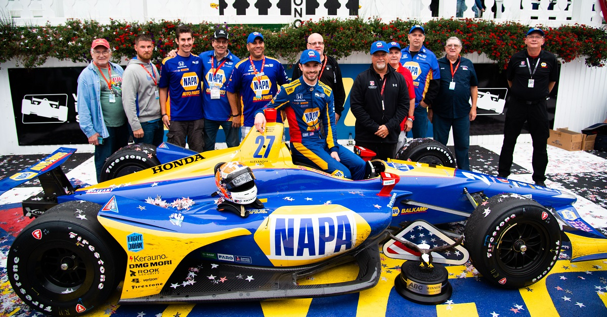 Rossi's Back-to-Back Wins Tighten IndyCar Championship Battle