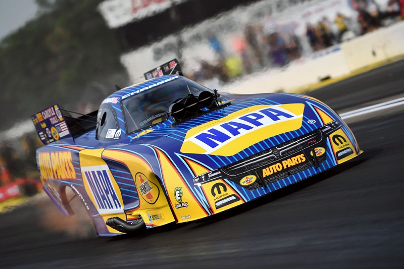Capps Bows Out Early in Brainerd