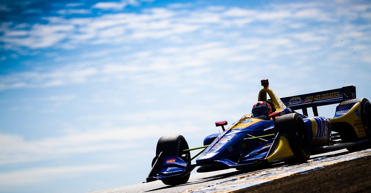 Rossi Races to 14th Top-Ten of 2018 IndyCar Season