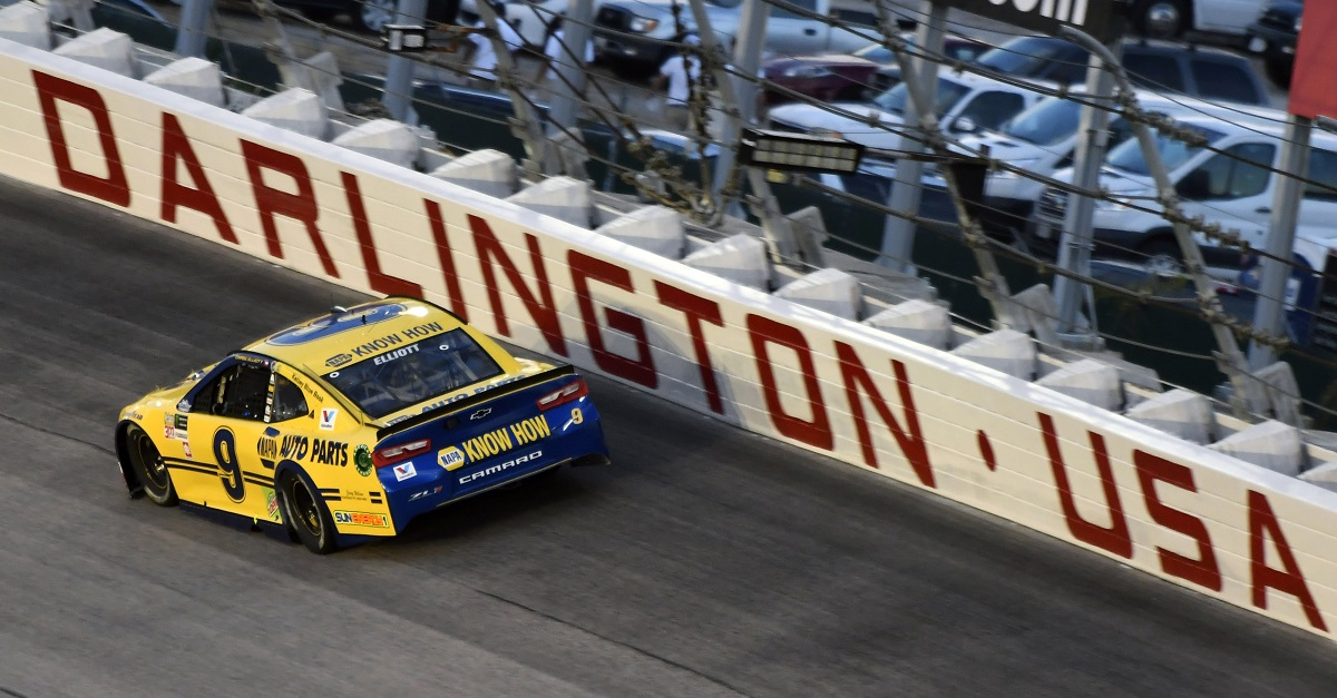 Elliott Collects First Career Cup Series Darlington Top-Five Finish