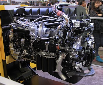 Choosing the right oil for this heavy diesel engine will keep your business rolling with the least downtime.