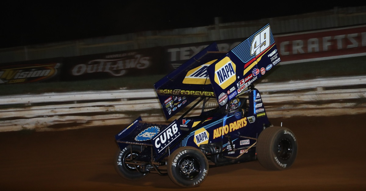 Brad Sweet 49 NAPA AUTO PARTS Williams Grove Fall 2018 feat