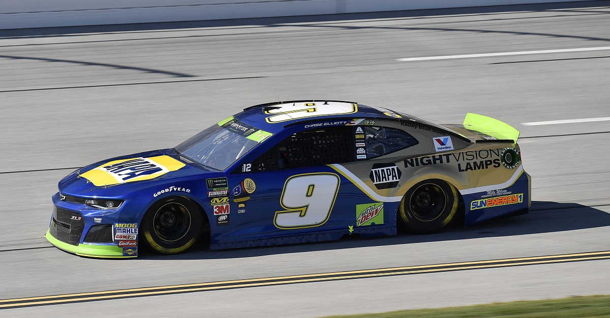 Elliott Finishes 31st after Being Collected in Last-Lap Accident at Talladega