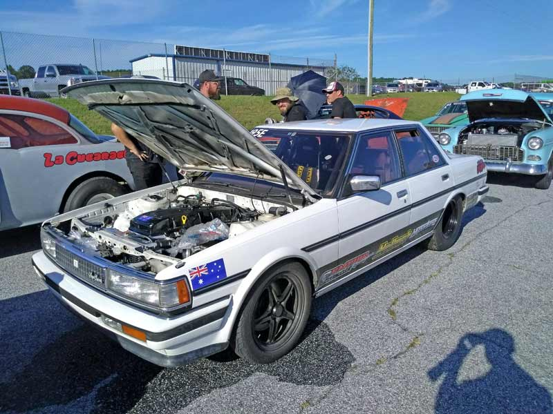 From the land down under, this Toyota Cresta is packing a turbo 4.0L Ford I6!