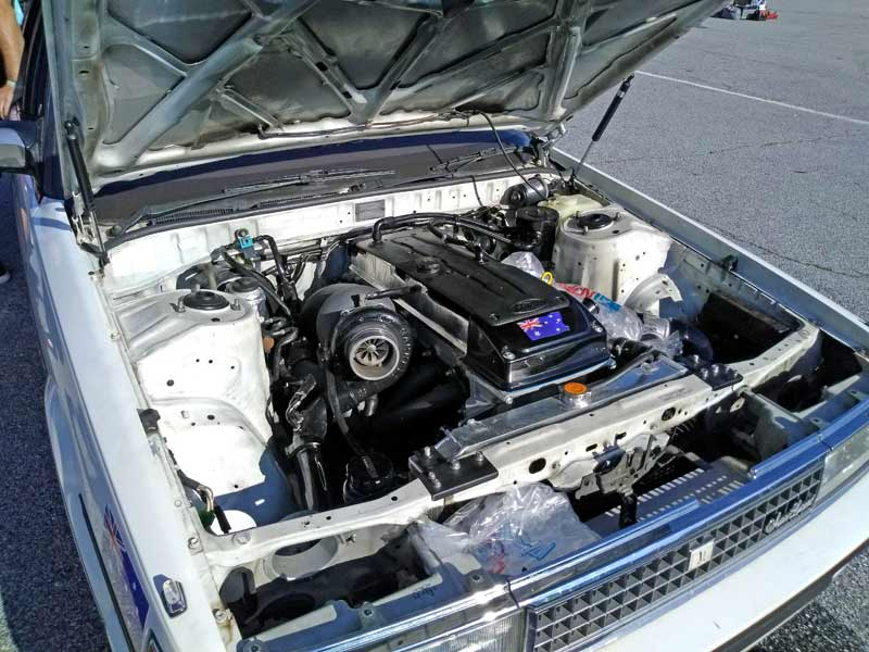 The Toyota Cresta was rocking a Ford 4.0L inline six turbo engine.