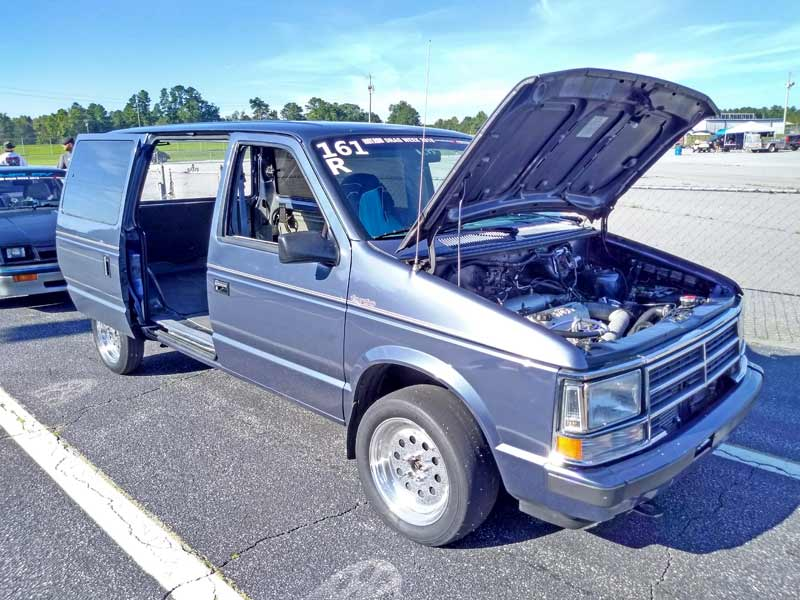 Turbo Mopars had a strong showing.