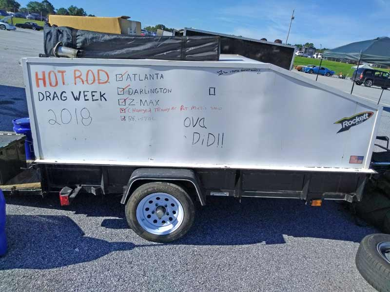 A trailer that tells the story at Drag Week