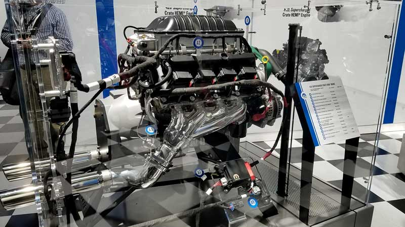 Ladies and gentlemen, we give you the Chrysler Hellephant. 1000-hp from a supercharged 426 HEMI. Available in crate form.