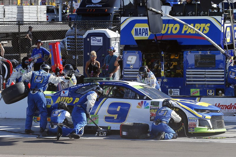 Elliott Finishes 23rd after Being Collected in Late Accident