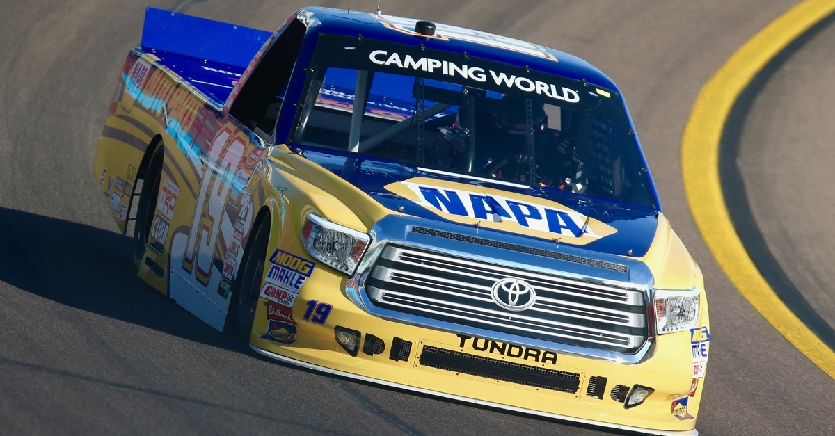 Derek Kraus NASCAR Camping World Truck Series debut Phoenix 2018 feat