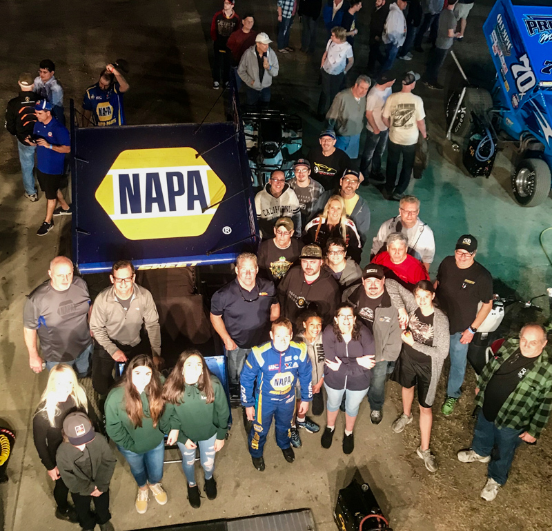 Brad Sweet 2019, Sweet Gets Solid Start to 2019 Season in Florida, NAPA Know How Blog, NAPA Know How Blog