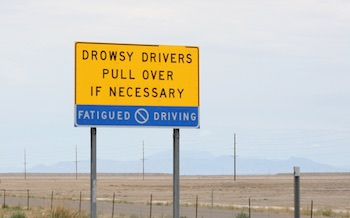 Barring a good night's rest, frequent cat naps can help prevent drowsy driving crashes.