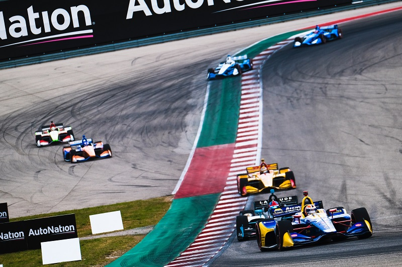 |Photographer: Jamie Sheldrick|Session: race|Event: IndyCar Classic|Circuit: Circuit of the Americas|Location: Austin, Texas|Series: NTT IndyCar Series|Season: 2019|Country: US|Car: Dallara DW12 UAK18|Number: 27|Team: Andretti Autosport|Driver: Alexander Rossi|