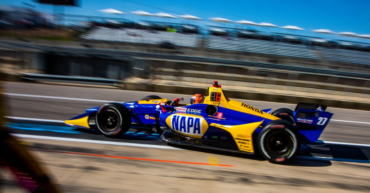 Rossi Grabs Top Ten After Untimely Yellow at COTA