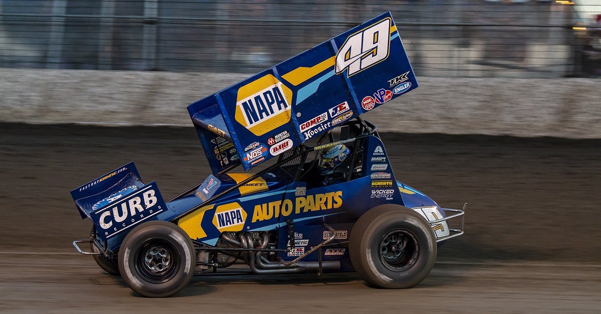 Brad Sweet NAPA AUTO PARTS 49 World of Outlaws Las Vegas 2019 feat