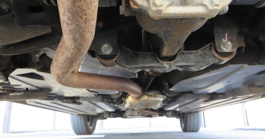 A car's exhaust system. A catalytic converter plays a major role in a car's exhaust system and when it goes bad, it can wreak havoc on your car's performance. Here's how to diagnose a bad catalytic converter.