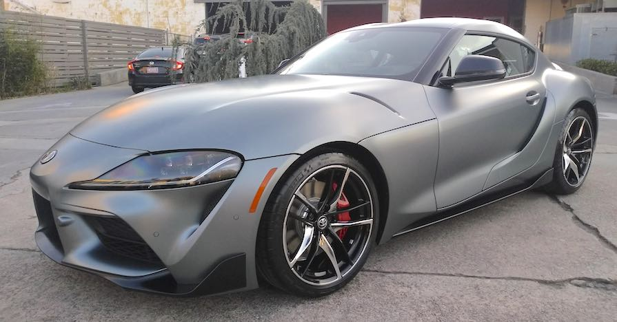 2020 toyota supra with Performance Brake Pads