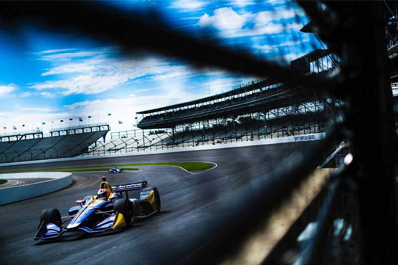 |Photographer: Jamie Sheldrick|Session: warm-up|Event: INDYCAR Grand Prix|Circuit: Indianapolis Motor Speedway|Location: Speedway, Indiana|Series: NTT IndyCar Series|Season: 2019|Country: US|Car: Dallara DW12 UAK18|Number: 27|Team: Andretti Autosport|Driver: Alexander Rossi|