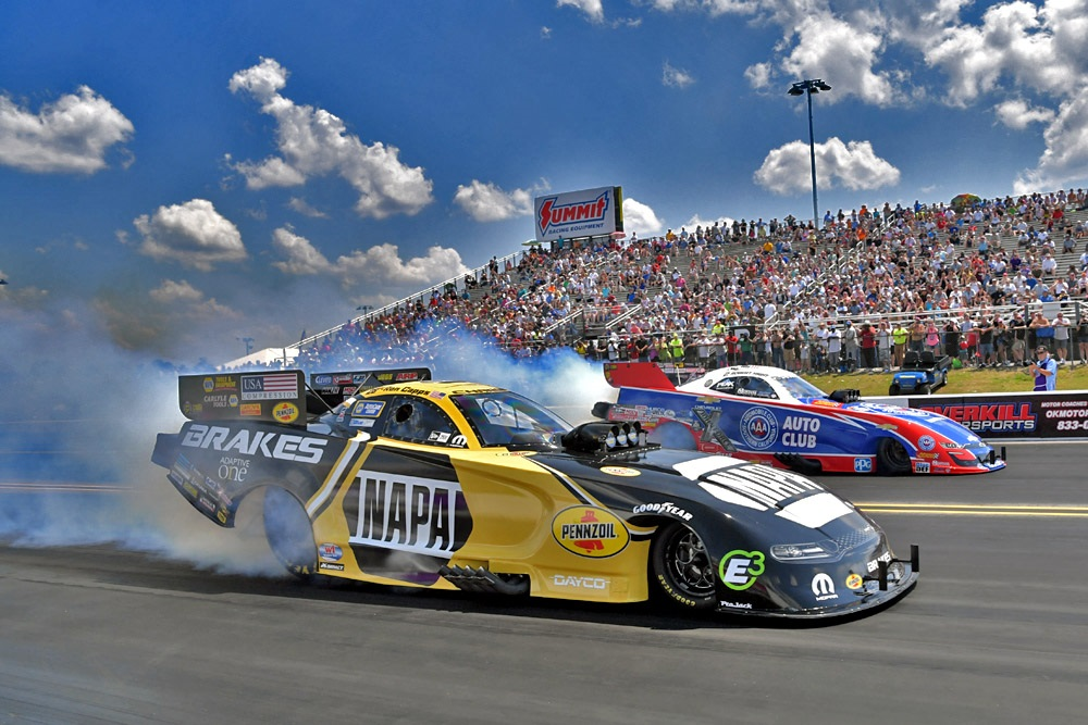 Ron Capps NAPA Brakes funny car NHRA Virginia Nationals winner