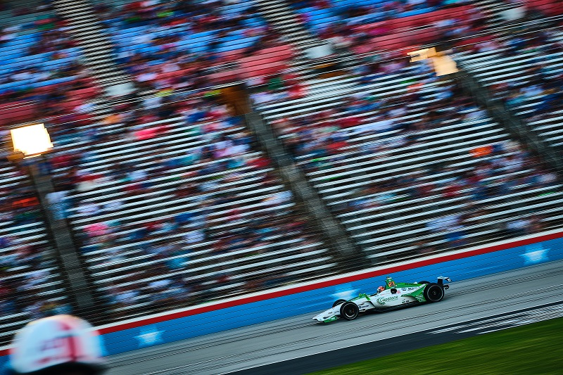 |Photographer: Jamie Sheldrick|Session: grid|Event: DXC Technology 600|Circuit: Texas Motor Speedway|Location: Dallas, Texas|Series: NTT IndyCar Series|Season: 2019|Country: US|Car: Dallara DW12 UAK18|Number: 27|Team: Andretti Autosport|Driver: Alexander Rossi|