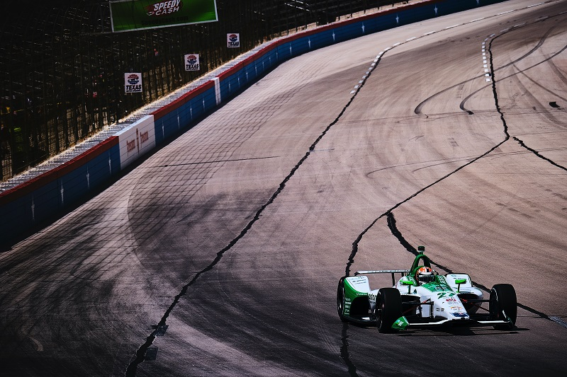 |Photographer: Jamie Sheldrick|Session: practice 2|Event: DXC Technology 600|Circuit: Texas Motor Speedway|Location: Dallas, Texas|Series: NTT IndyCar Series|Season: 2019|Country: US|Car: Dallara DW12 UAK18|Number: 27|Team: Andretti Autosport|Driver: Alexander Rossi|