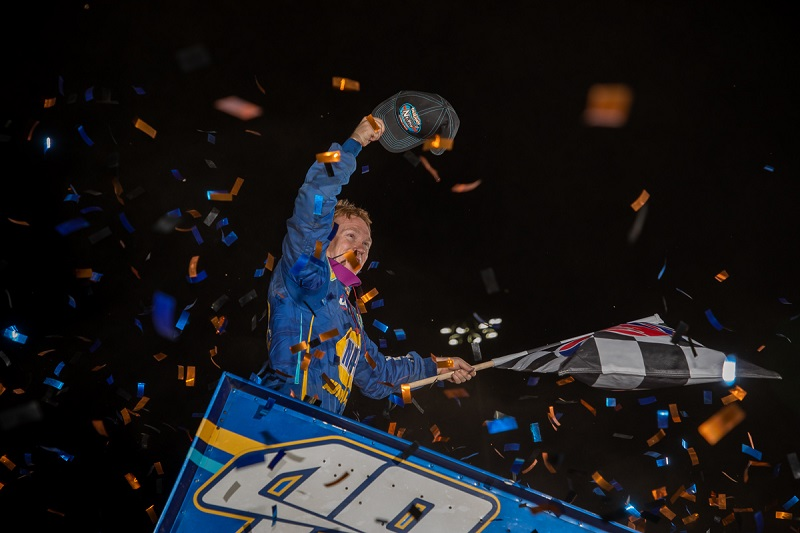 Brad Sweet World of Outlaws points leader Granite City Speedway