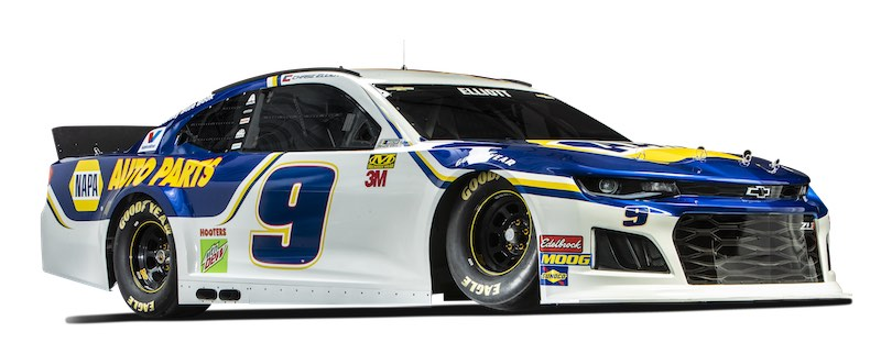 Chase Elliott Camaro ZL1 for NAPA 2019