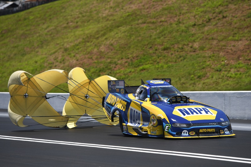 Ron Capps NAPA AUTO PARTS funny car Thunder Valley Nats 2019