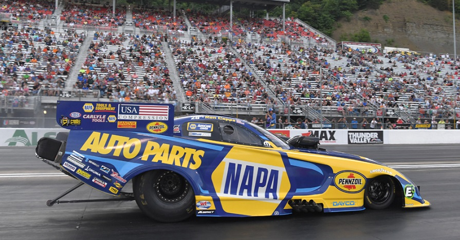 Ron Capps Races to the Semifinals in Bristol