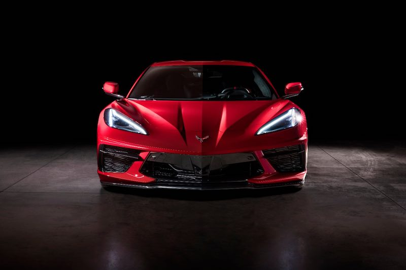 2020 Chevrolet Corvette Stingray front