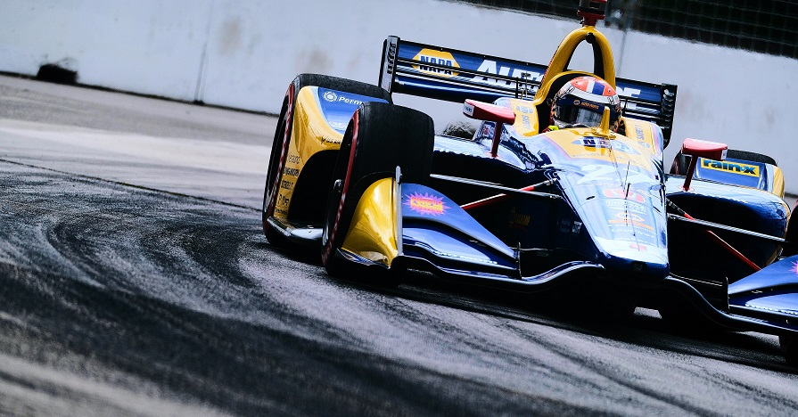 |Photographer: Jamie Sheldrick|Session: practice 2|Event: Honda Indy Toronto|Circuit: Streets of Toronto|Location: Toronto, Ontario|Series: NTT IndyCar Series|Season: 2019|Country: Canada|Car: Dallara DW12 UAK18|Number: 27|Team: Andretti Autosport|Driver: Alexander Rossi|