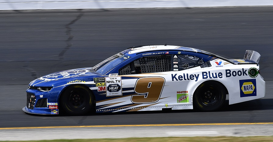 Elliott Finishes 29th at New Hampshire Motor Speedway