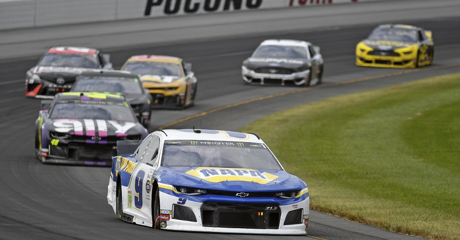Elliott Finishes 38th at Pocono Raceway