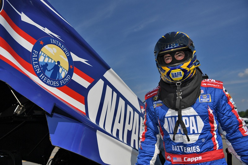 Ron Capps NAPA Batteries IFHF Epping 2019